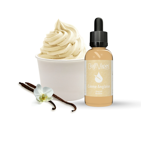 Creme Anglaise by Craft Vapes - Vapebrands E-Liquid - e-liquid