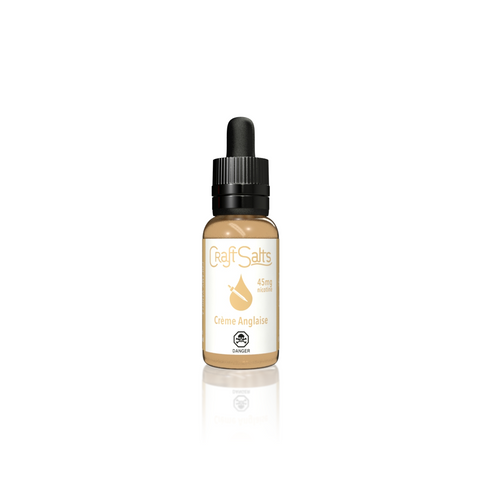 Creme Anglaise by Craft Salts - Vapebrands E-Liquid - e-liquid