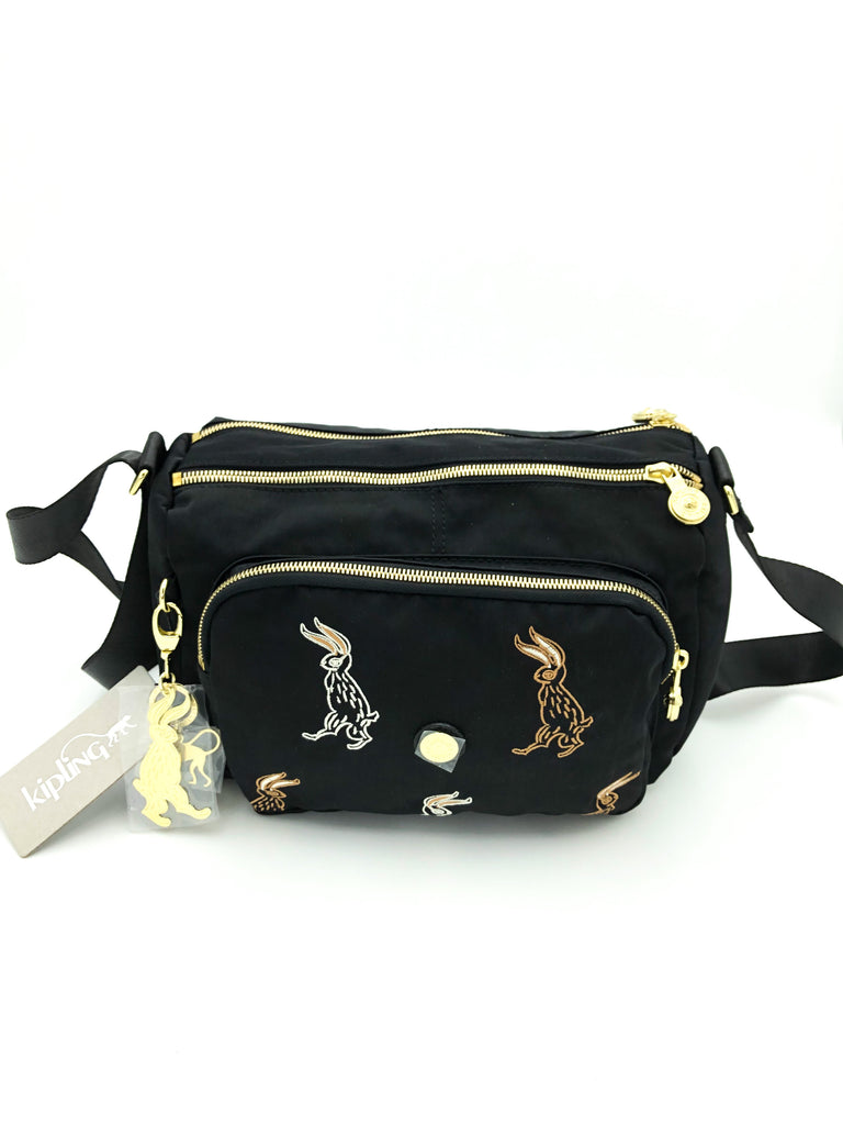 Kipling Limited Edition H. Lee  Bunny Reth Crossbody