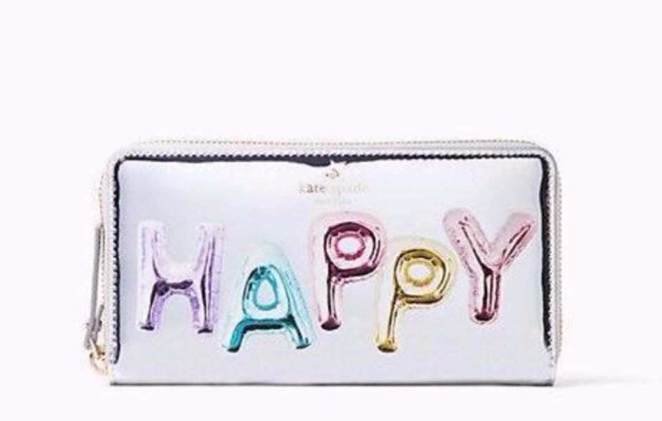 Kate Spade Whimsies Happy Lacey Wallet
