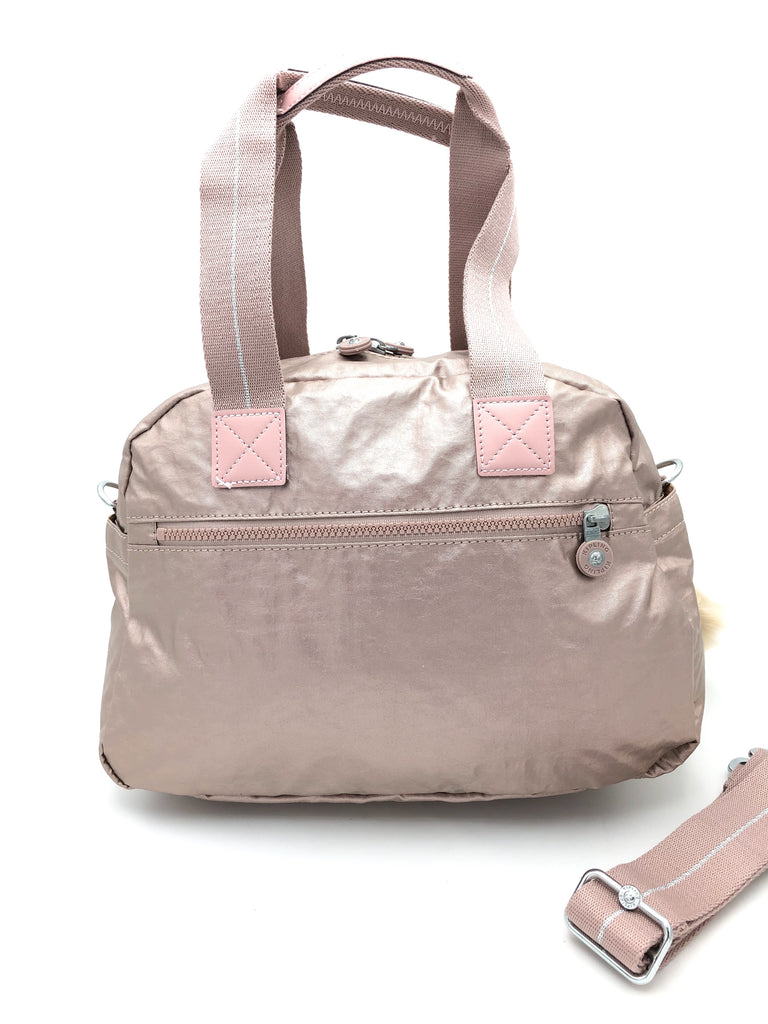 Kipling Metallic Defea Satchel