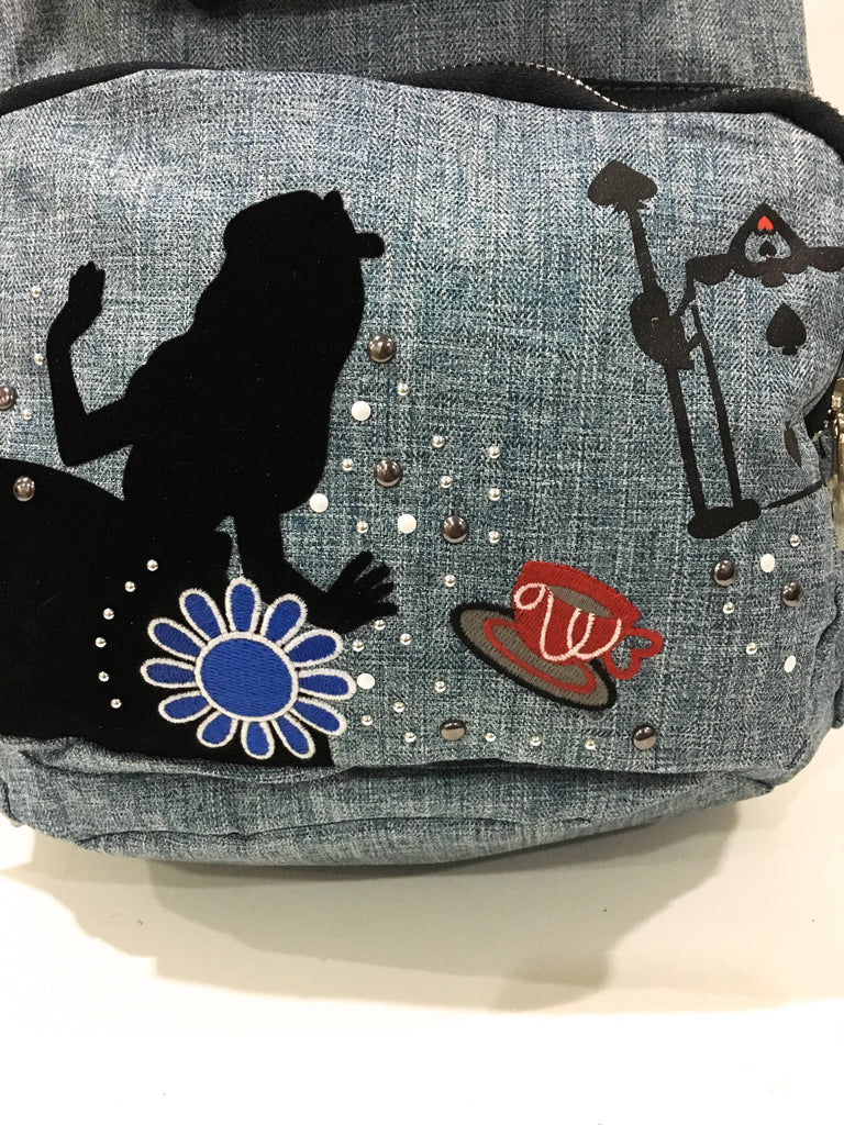 Kipling Alice Denim Backpack