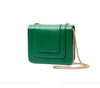 Serpentine Style with Chain Shoulder Strap Shoulder Bag