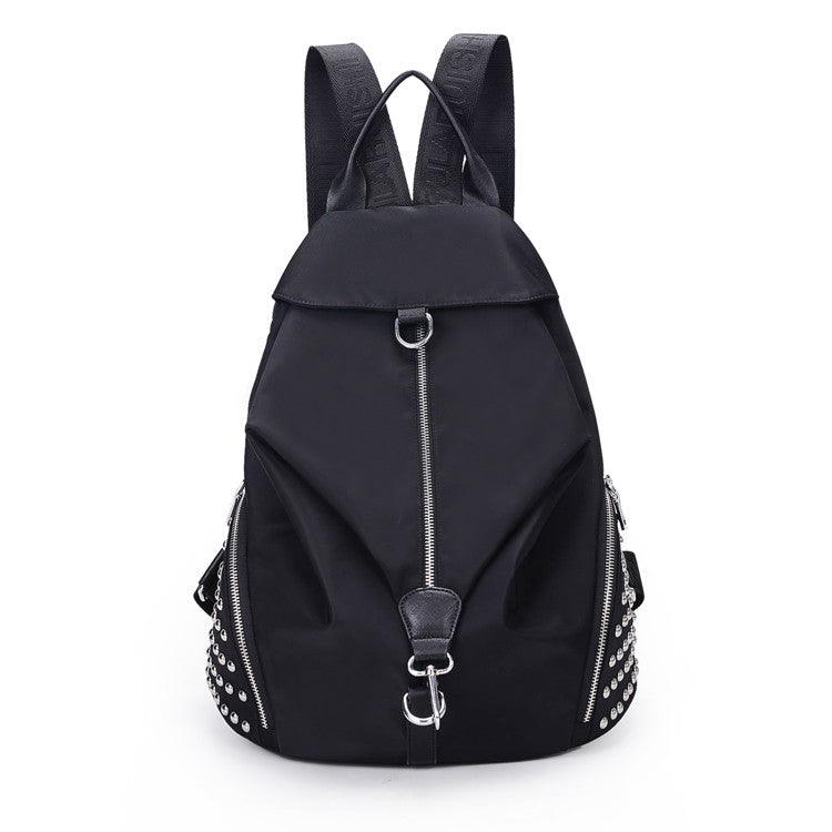 Rivet Nylon Women's Backpack