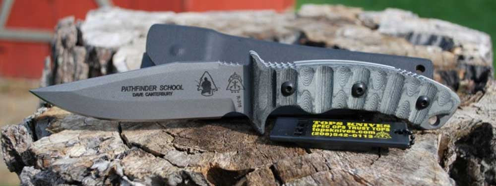 Featured Product: Pathfinder Survival Knife By TOPS Knives