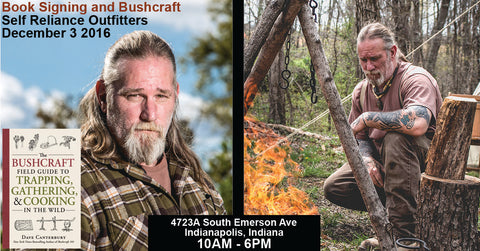 Dave Canterbury Book Signing and Bushcraft Event