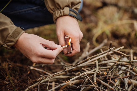 Fire Starting Methods like Flint and Steel - Matches