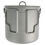 1100ml Titanium Bush Pot