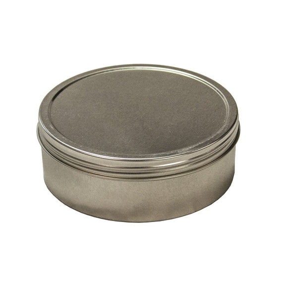 12oz Round Steel Container - Screw Top