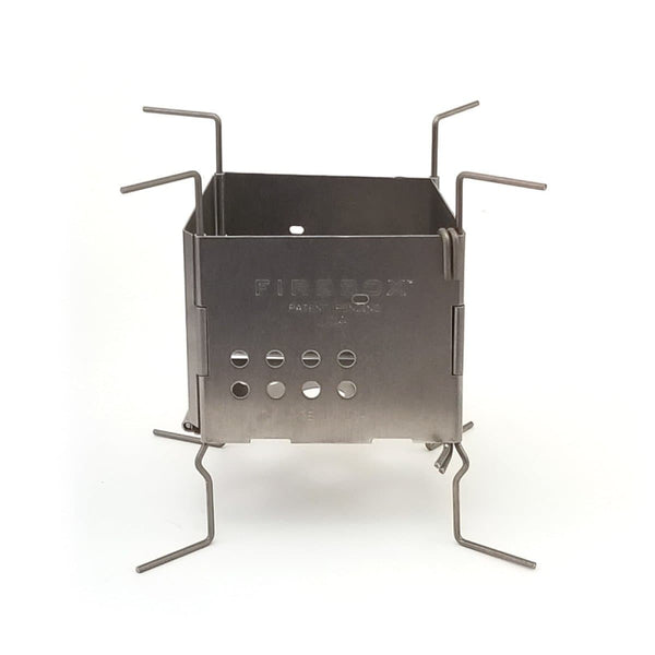 Gen2 Firebox Nano Ultralight Stove - Stainless Steel