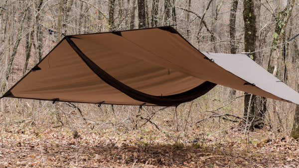 DD Tarp 3x3 - Coyote Brown