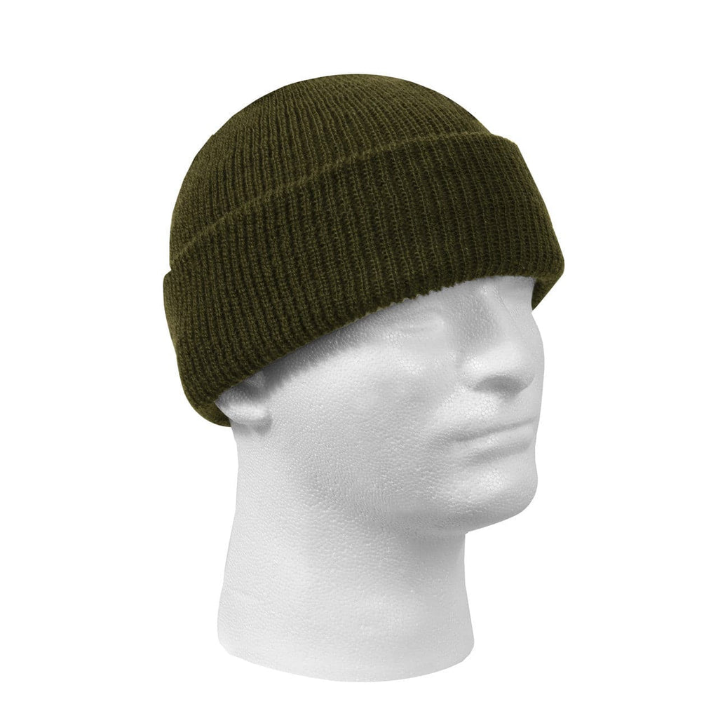 image of mannequin wearing a wool watch cap