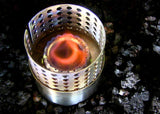 Stainless Steel Alcohol Stove w/ Flame Regulator