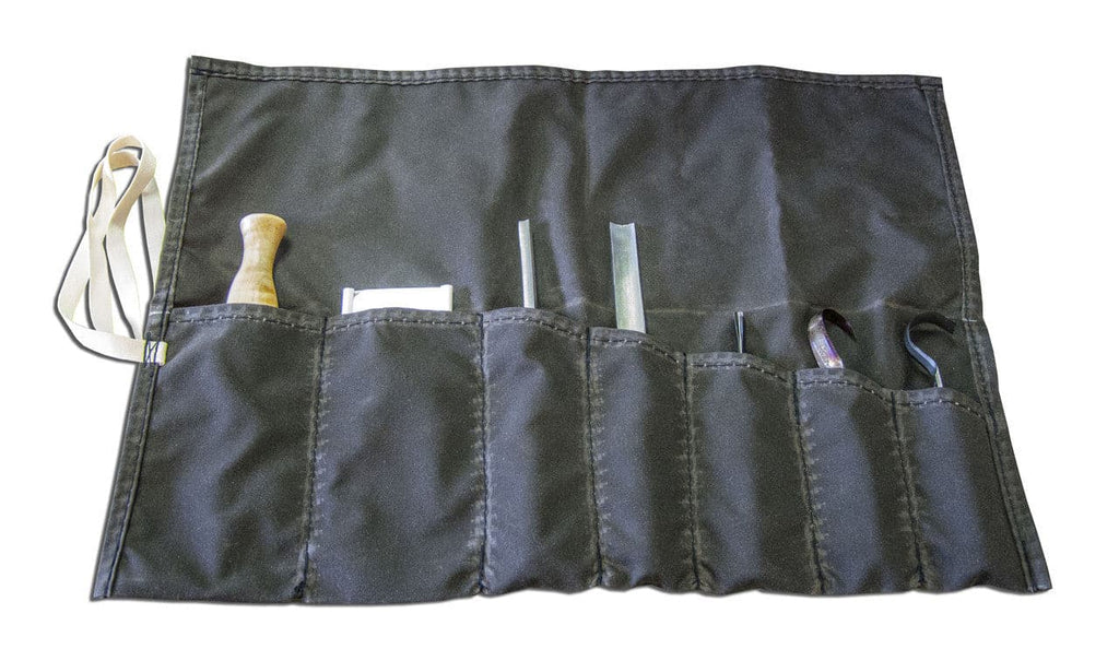Oilskin Tool Roll Bag
