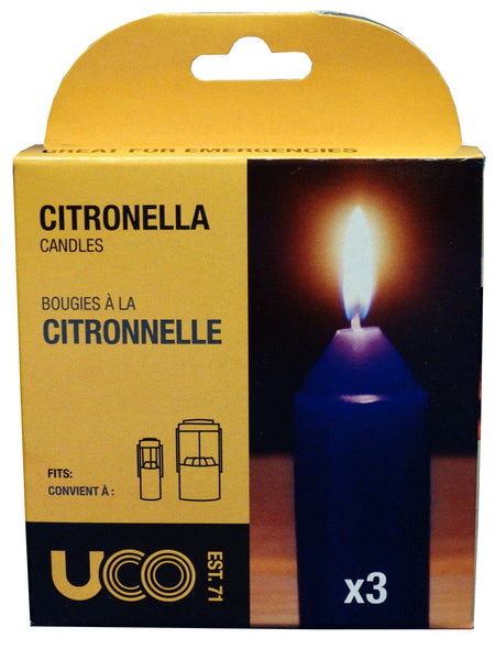 Citronella Candles - 3 Pack