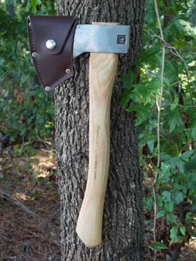 Velvicut Premium 1.25lb Hudson Bay Belt Hatchet w/Leather Mask (9937727681)