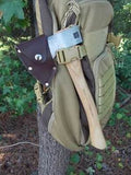 Velvicut Premium 1.25lb Hudson Bay Belt Hatchet w/Leather Mask