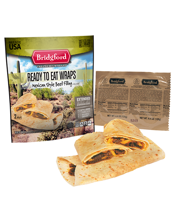 Bridgford Foods Corporation - Mexican Beef Wrap (2pk)