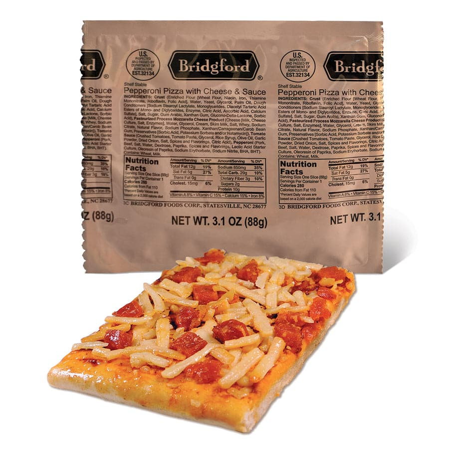 Bridgford Foods Corporation - Pepperoni & Cheese Pizza (2pk)