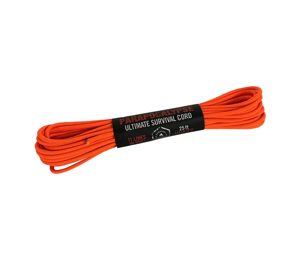 Parapocalypse Ultimate Survival Cord - Orange