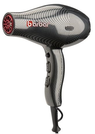 Barbar Italy 9800 Hair Dryer- Black