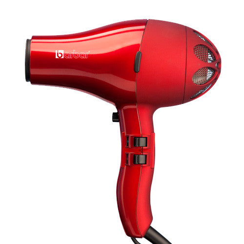 The NEW Barbar 4800 Ionic  Blow Dryer (Red)