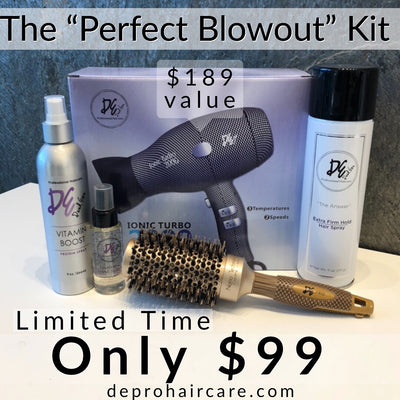The Perfect Blowout Kit by David Ezra - David Ezra Professional Haircare