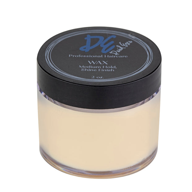 David Ezra DE Pro Hair Wax - Medium Hold & Shine Finish - David Ezra Professional Haircare