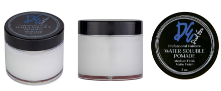 David Ezra DE Pro Hair Care Water Soluble Pomade - Medium Hold & Matte Finish - David Ezra Professional Haircare