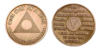 AlAnon Friends & Family Bronze Medallions