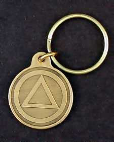 AA Logo Small Key Tags