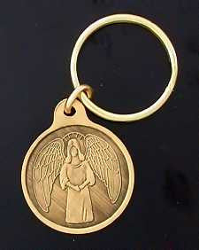 Guardian Angel Small Key Tags