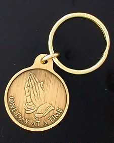 Praying Hands Small Key Tags