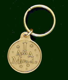 I Am A Miracle Small Key Tags