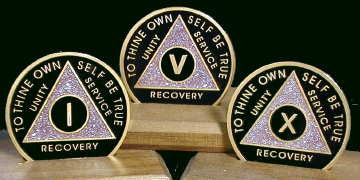 The Network 12 Sparkle Series Recovery Medallions
