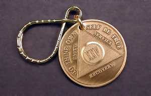 Bronze AA Key Tags
