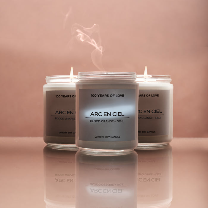 ARC EN CIEL CANDLE - 3 PACK