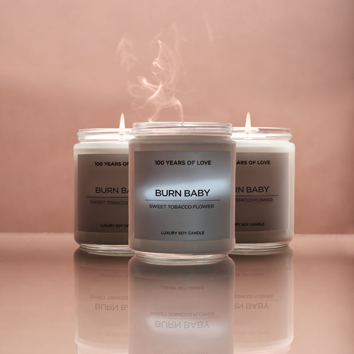 BURN BABY CANDLE - 3 PACK