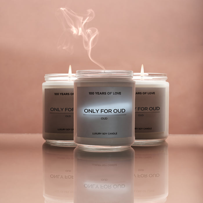 ONLY FOR OUD CANDLE - 3 PACK