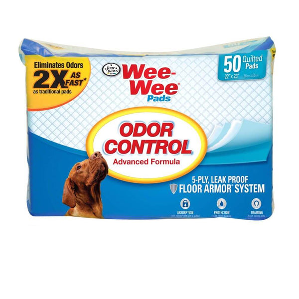Wee-Wee Odor Control Pads 50 count