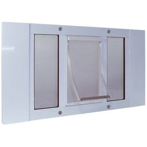 Aluminum Sash Pet Door