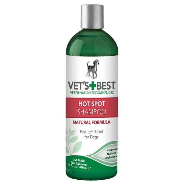 Hot Spot Dog Skin Care Shampoo 16oz