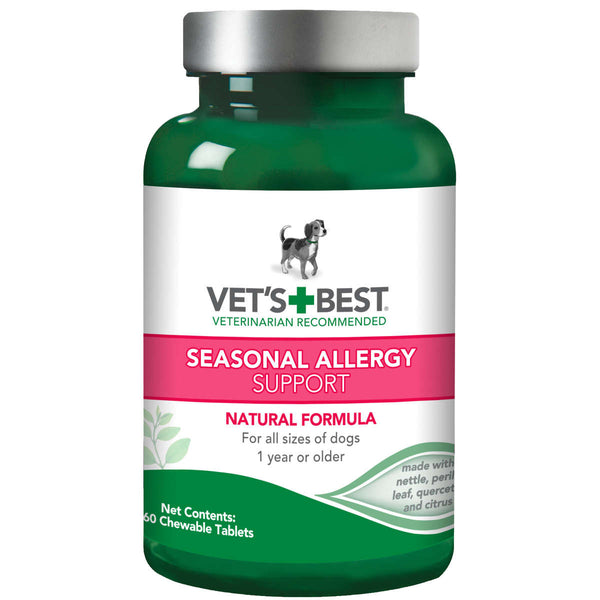 Dog Seasonal Allergy Support Supplement 60 Tablet