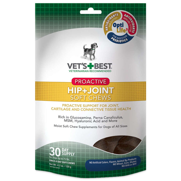 Proactive Hip and Joint Dog Soft Chews 30 count