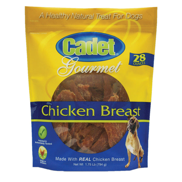 Premium Gourmet Chicken Breast Treats 28 ounces