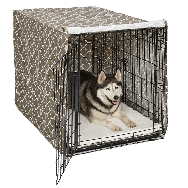 QuietTime Defender Covella Dog Crate Cover