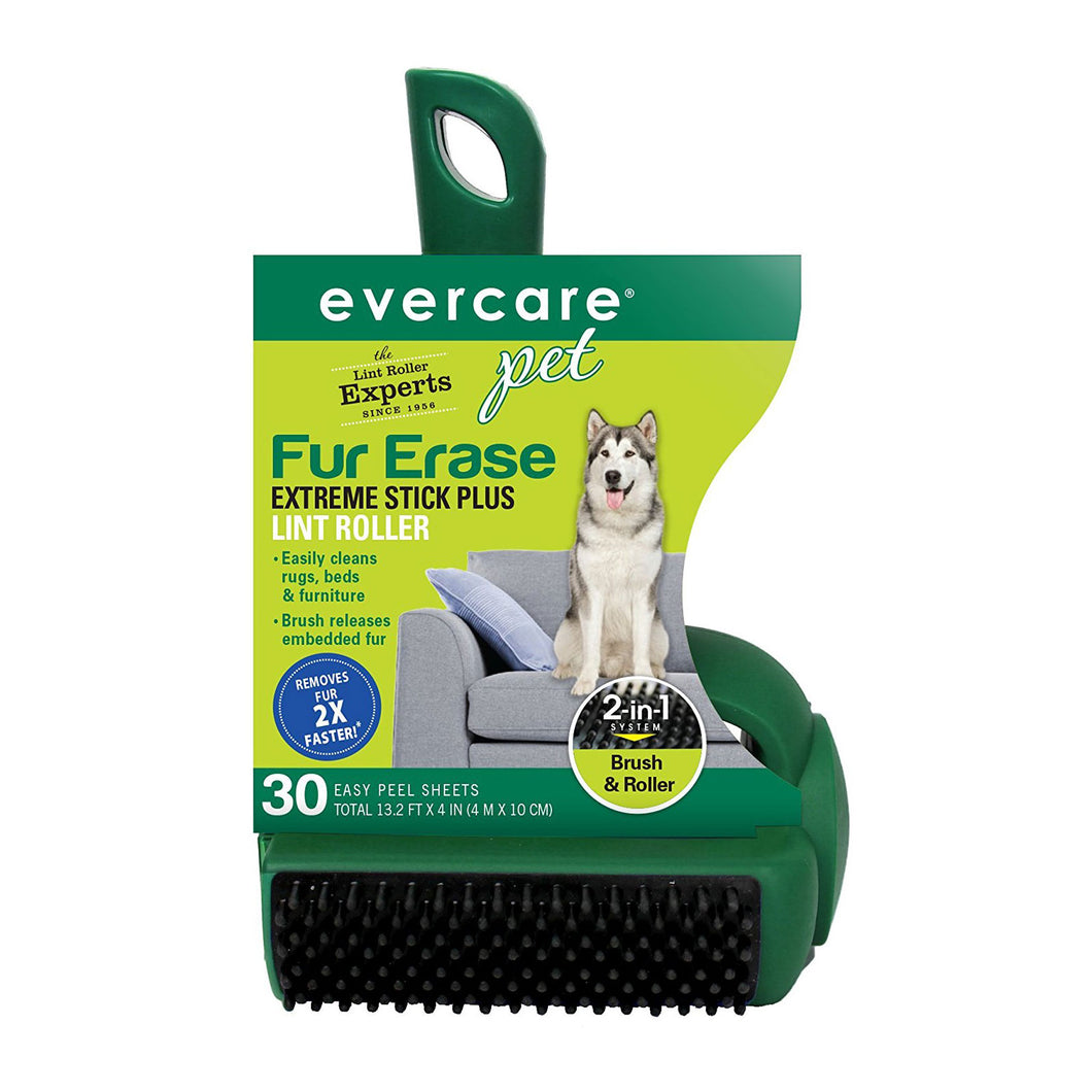Pet Plus Extreme Stick T-Handle Lint Roller 30 Sheet