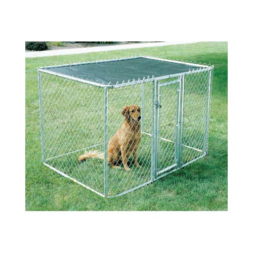 Chain Link Portable Dog Kennel