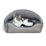 Amazin' Kitty Lounger Hooded Bed