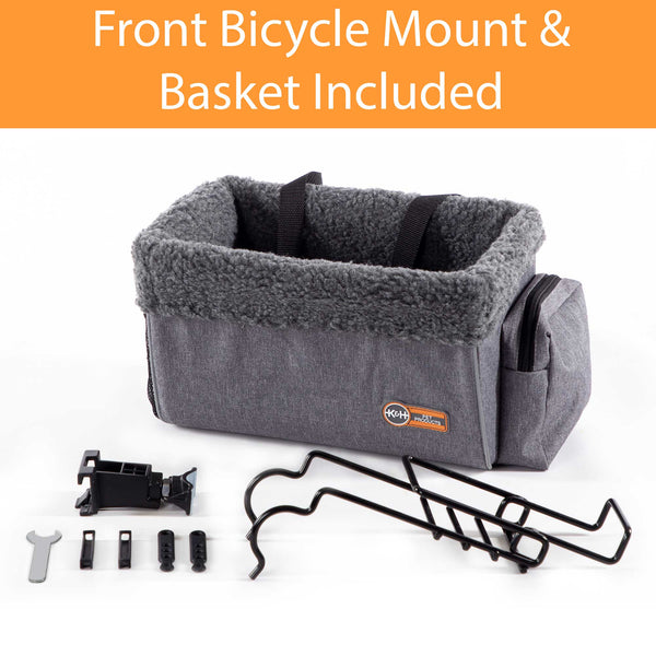 Travel Bike Basket for Pets
